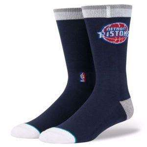 STANCE NBA Pistons Arena Blue Classic Pique Socks